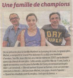 Une Famille de Champions