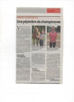 Journal Saone Loire Championnes 001